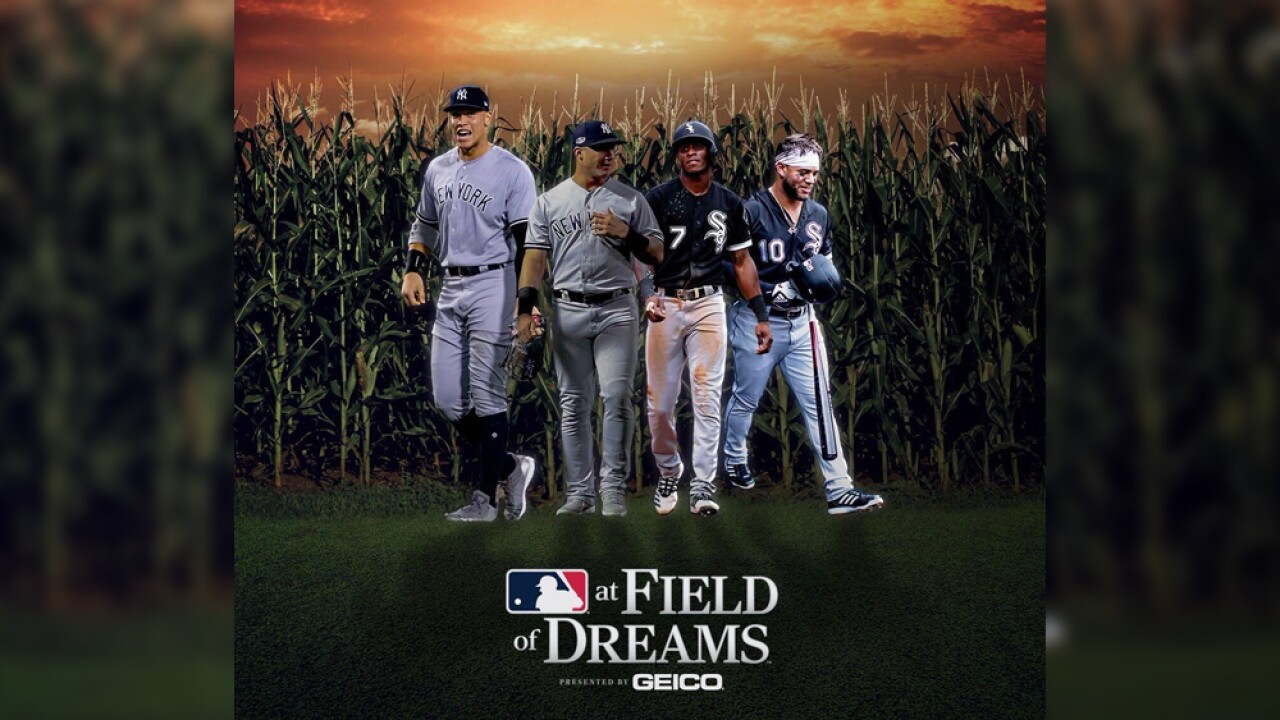 Major League Baseball game to be played at 'Field of Dreams' site in Iowa in 2020