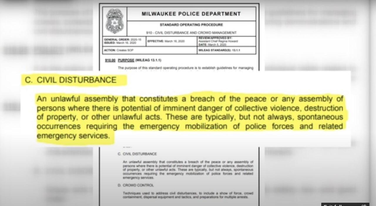 civil disturbance definition