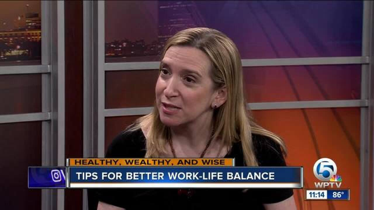 Advice for better work-life balance