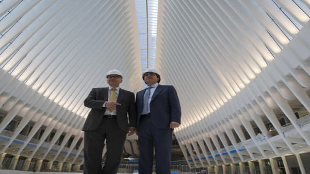 World Trade Center transit hub opens, cost $4B
