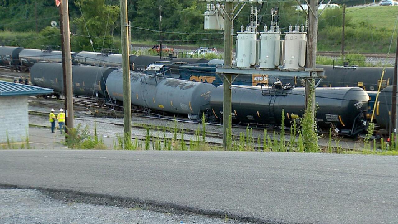 Crews Respond To Train Derailment In Nashville