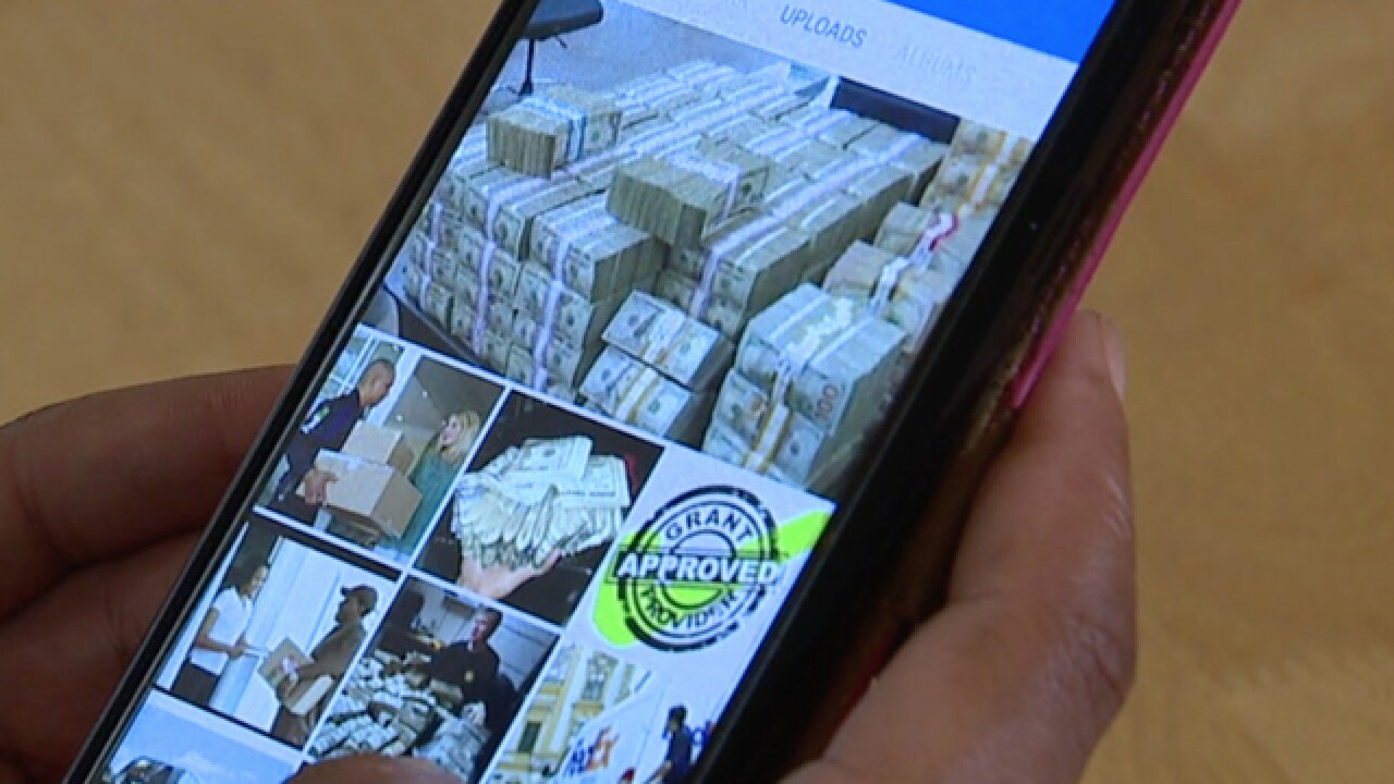 Facebook lottery scam hits many in U.S.