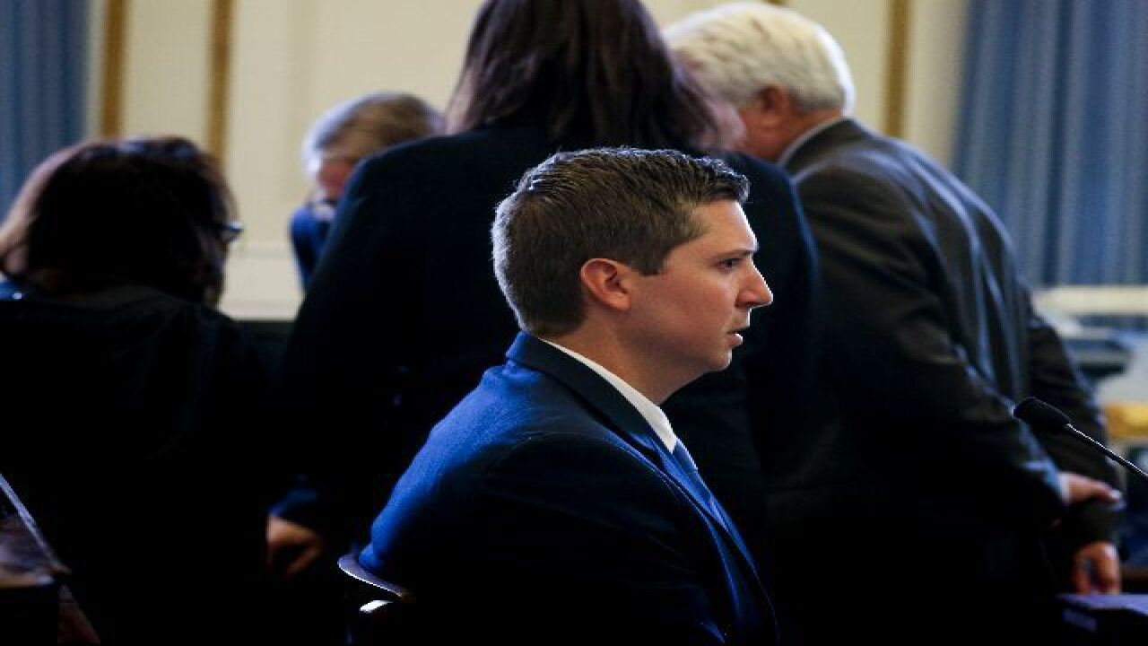 Did Tensing's testimony change in his retrial?