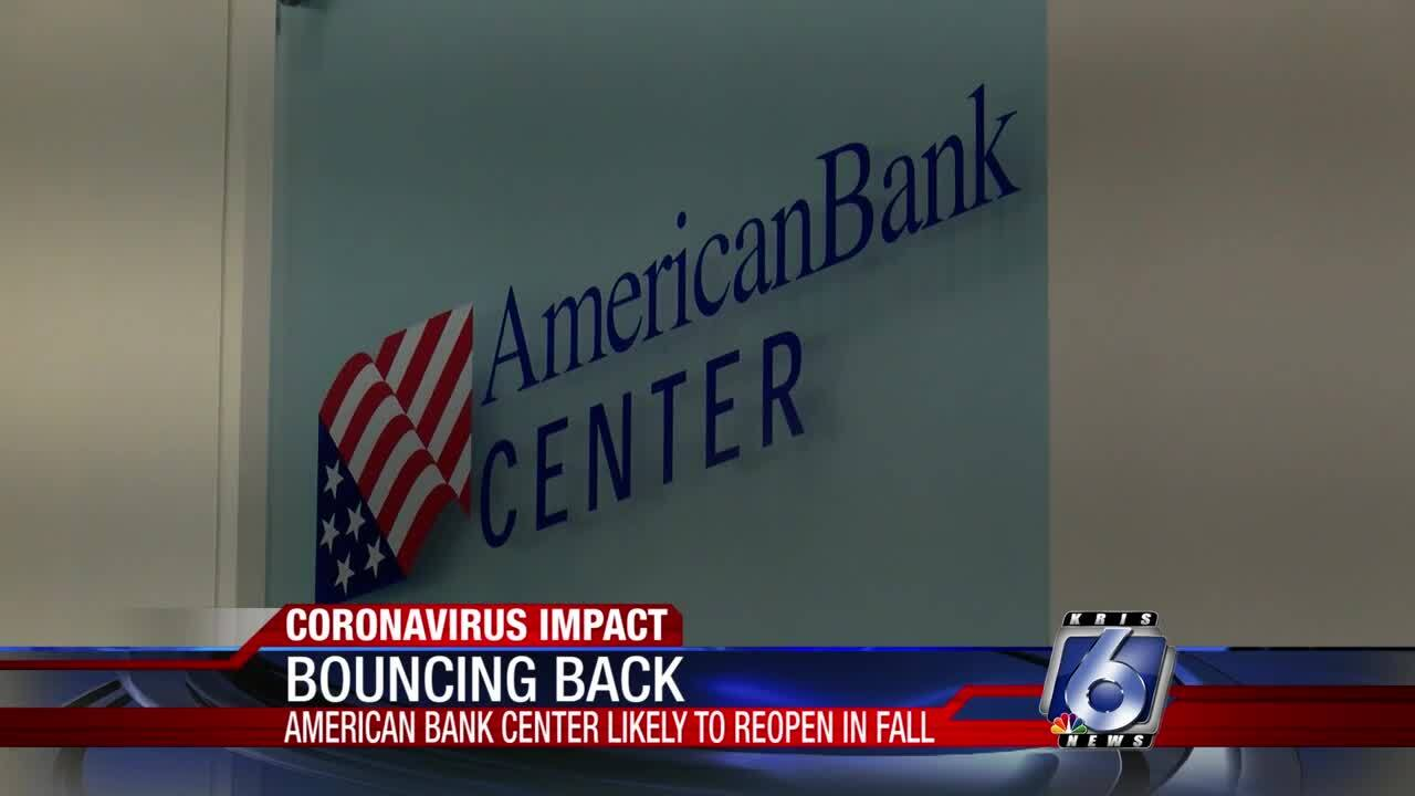 American Bank Center gears up for fall reopening