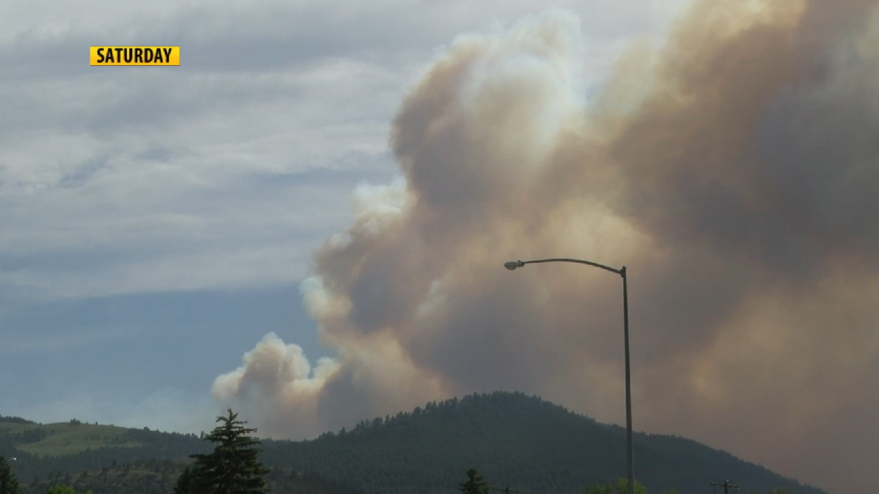 Lump Gulch Fire 50% contained