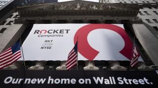 Financial Markets Wall Street Rocket IPO