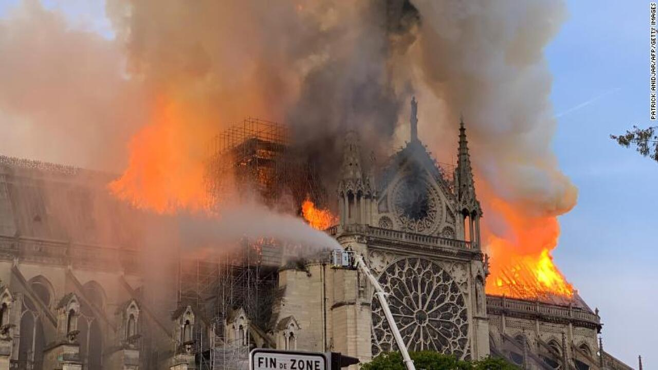 French billionaires pledge $339 million to help rebuild Notre Dame