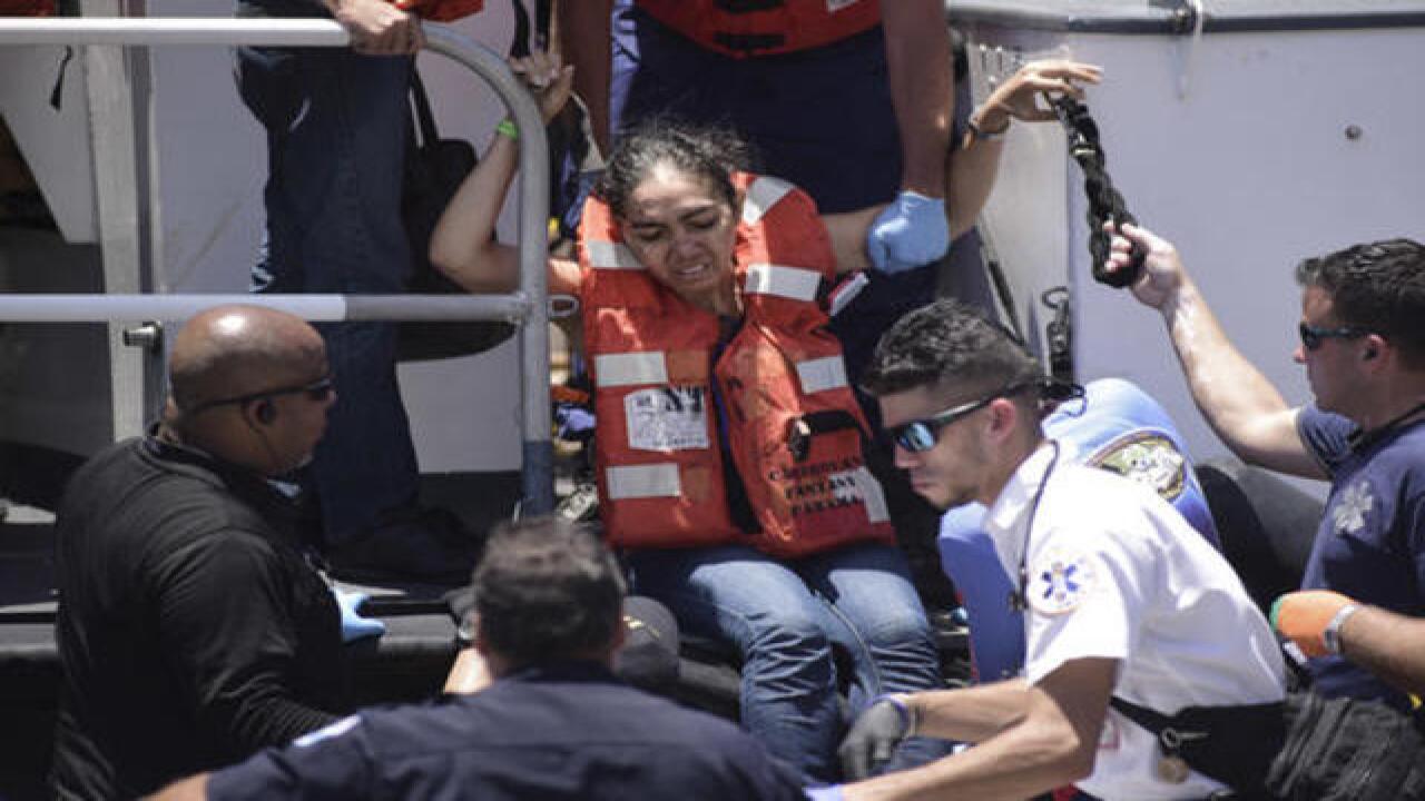 500 evacuated from cruise ship blaze