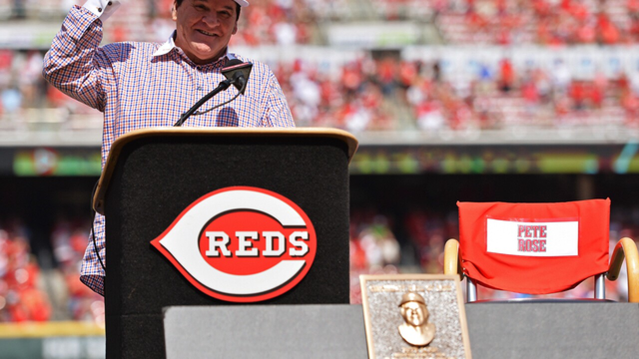 Erardi: Extemporaneous Pete Rose stole his own show at Hall of Fame induction, made it personal