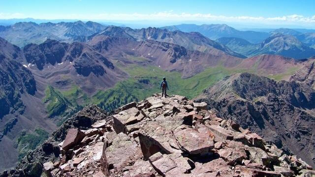 Injured hiker air lifted off Maroon Peak in Colorado