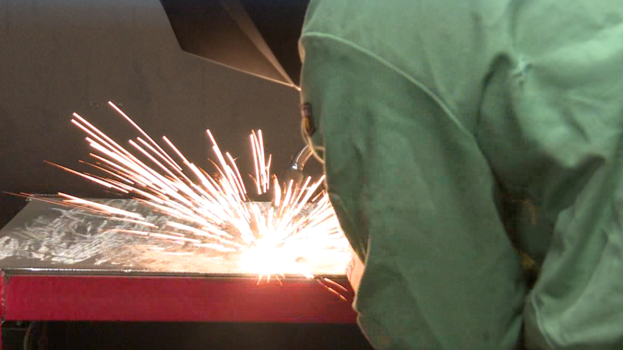 Welding students at Craft Technical Institute are a hot commodity