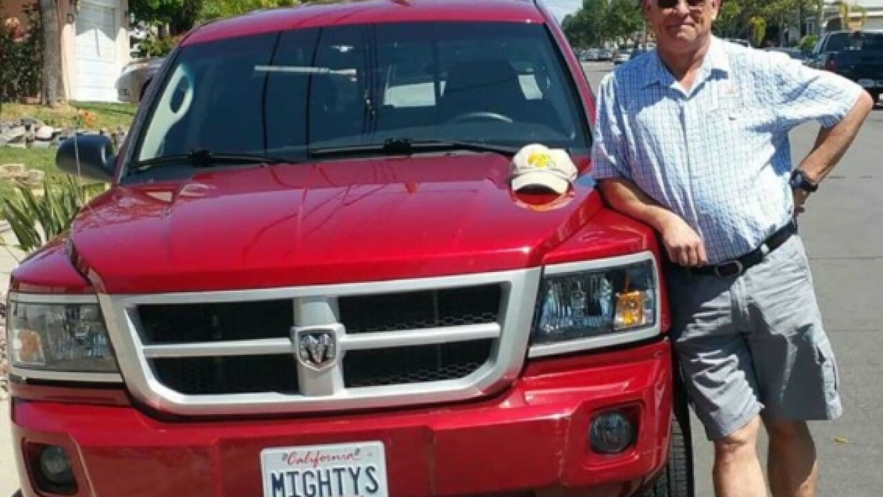 Man devastated over theft of late father's truck