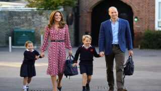 Princess Charlotte Went To Her First Day Of School With Prince George