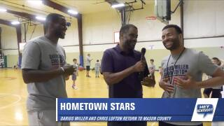 Darius Miller and Chris Lofton Basketball Camp!
