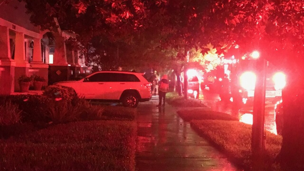 Lightning strike likely to blame for house fire in Tampa