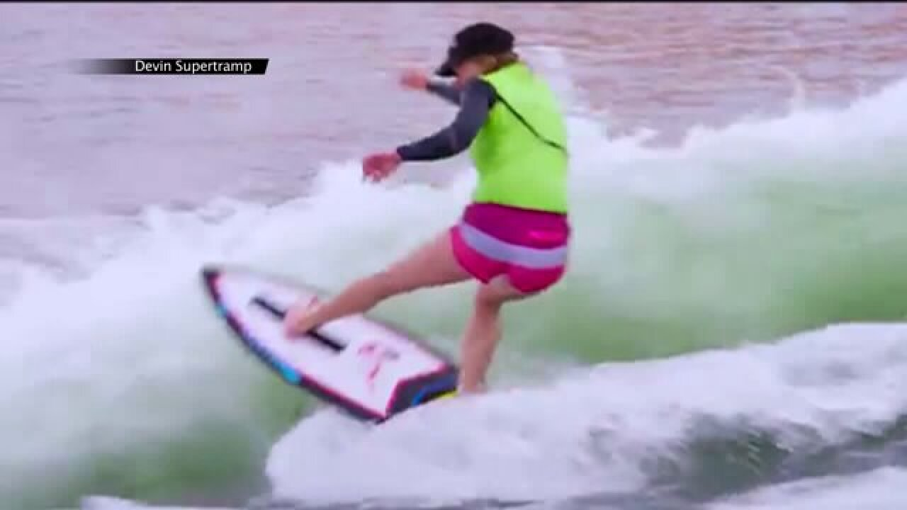 Maggie Phipps, competitive wakesurfer, talks competition