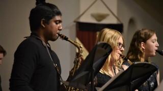 Olivet College Jazz Band Members