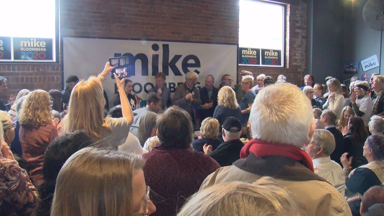 Dueling democrats campaign in Colorado ahead of Super Tuesday
