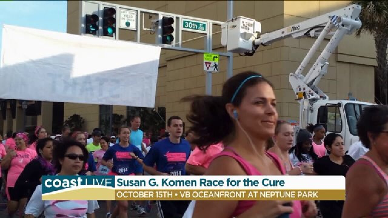 Racing for a Cure with Susan G. Komen on CoastLive