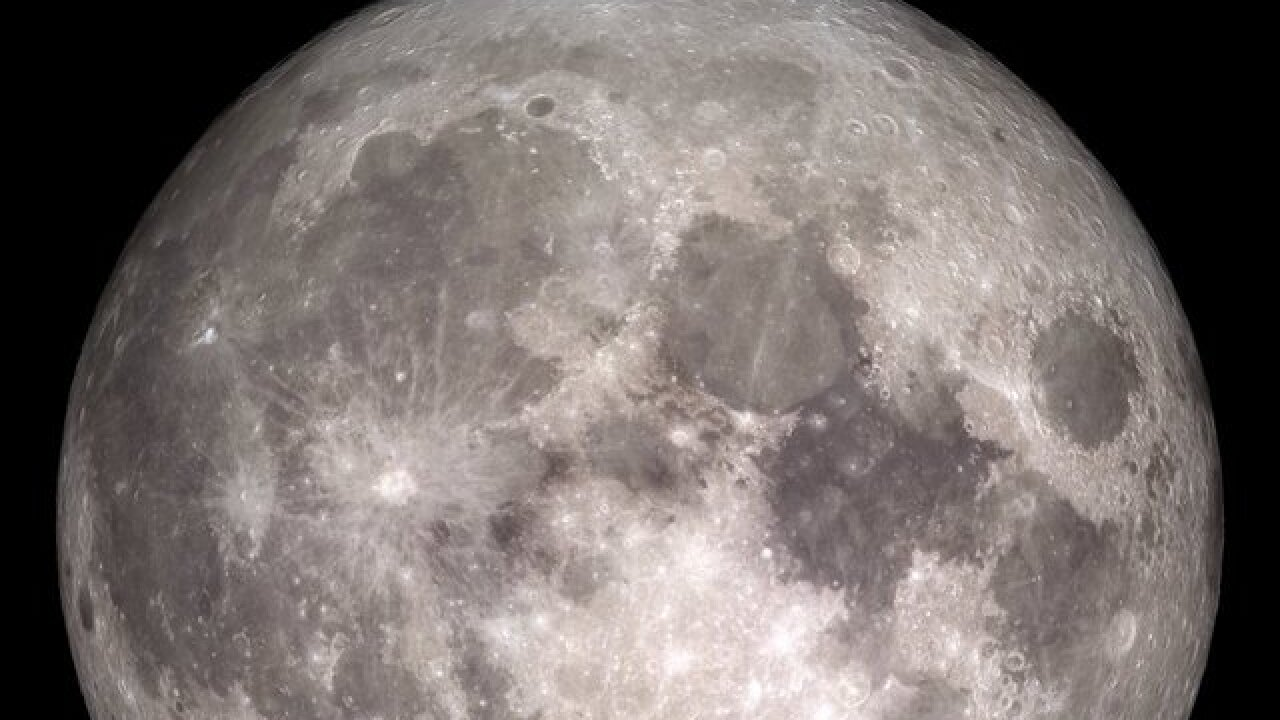 Scripps Institution of Oceanography experts believe there's no water in the moon