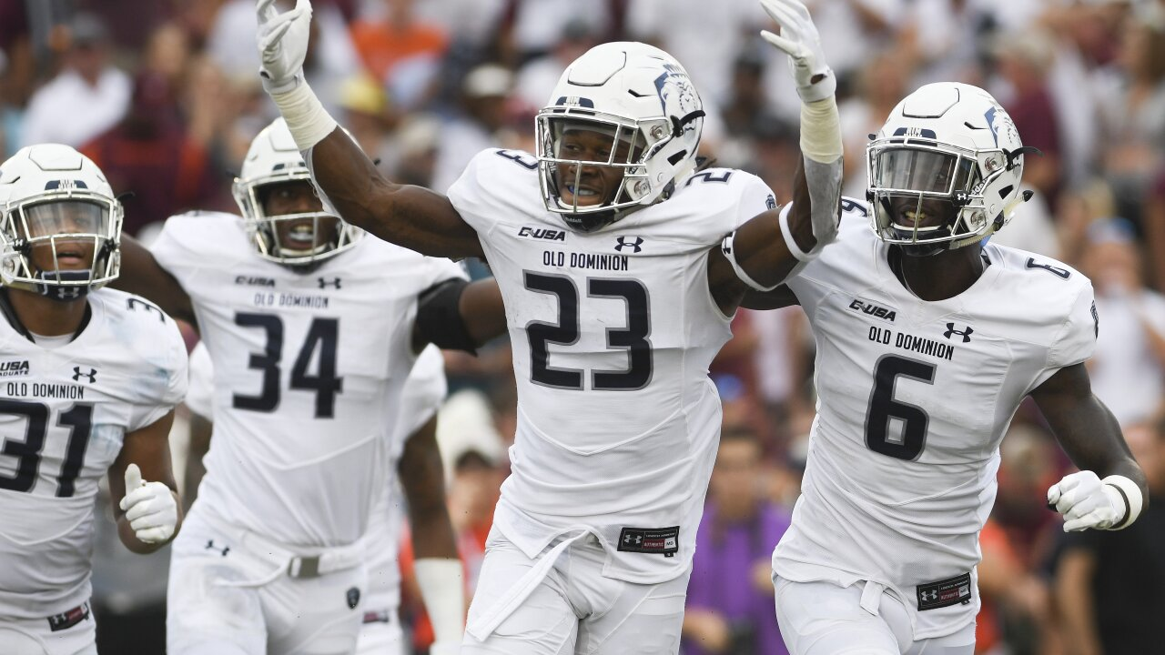 Old Dominion football releases 2019 football schedule