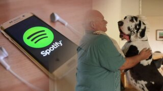 The 'pawfect' playlist: Spotify makes playlist forpets