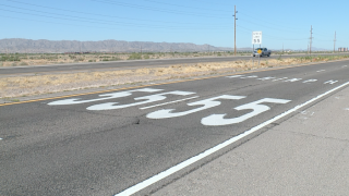 ADOT testing new road speed decals to help slow down drivers