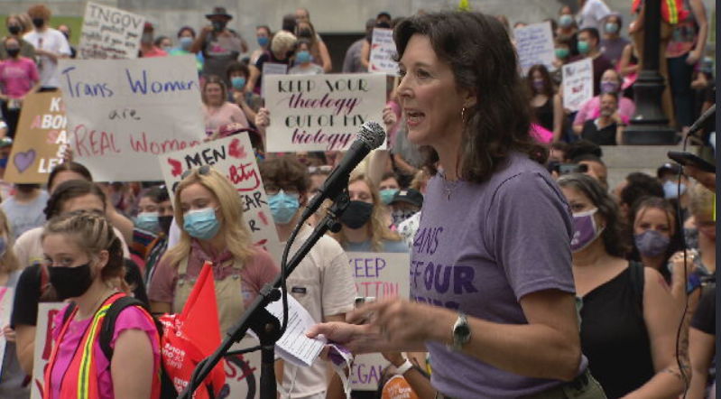 Rally for pro-choice