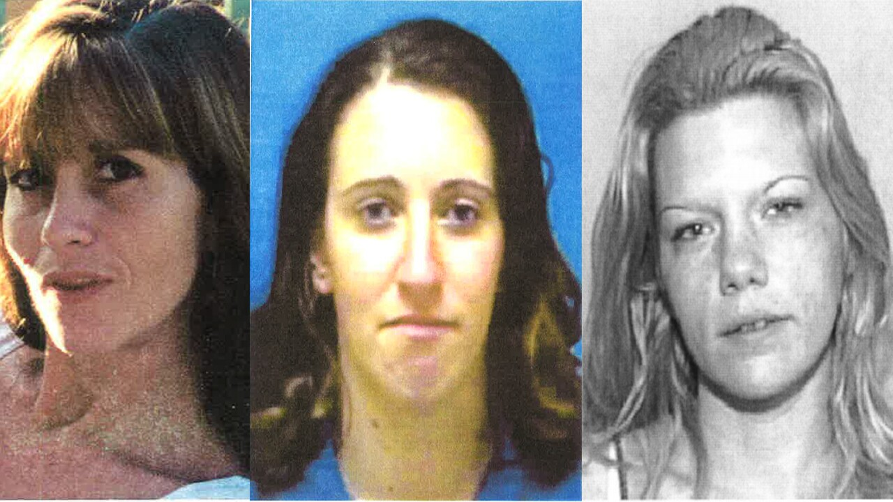 Kimberly Dietz-Livesey, Sia Demas and Jessica Good, victims of Roberto Fernandes