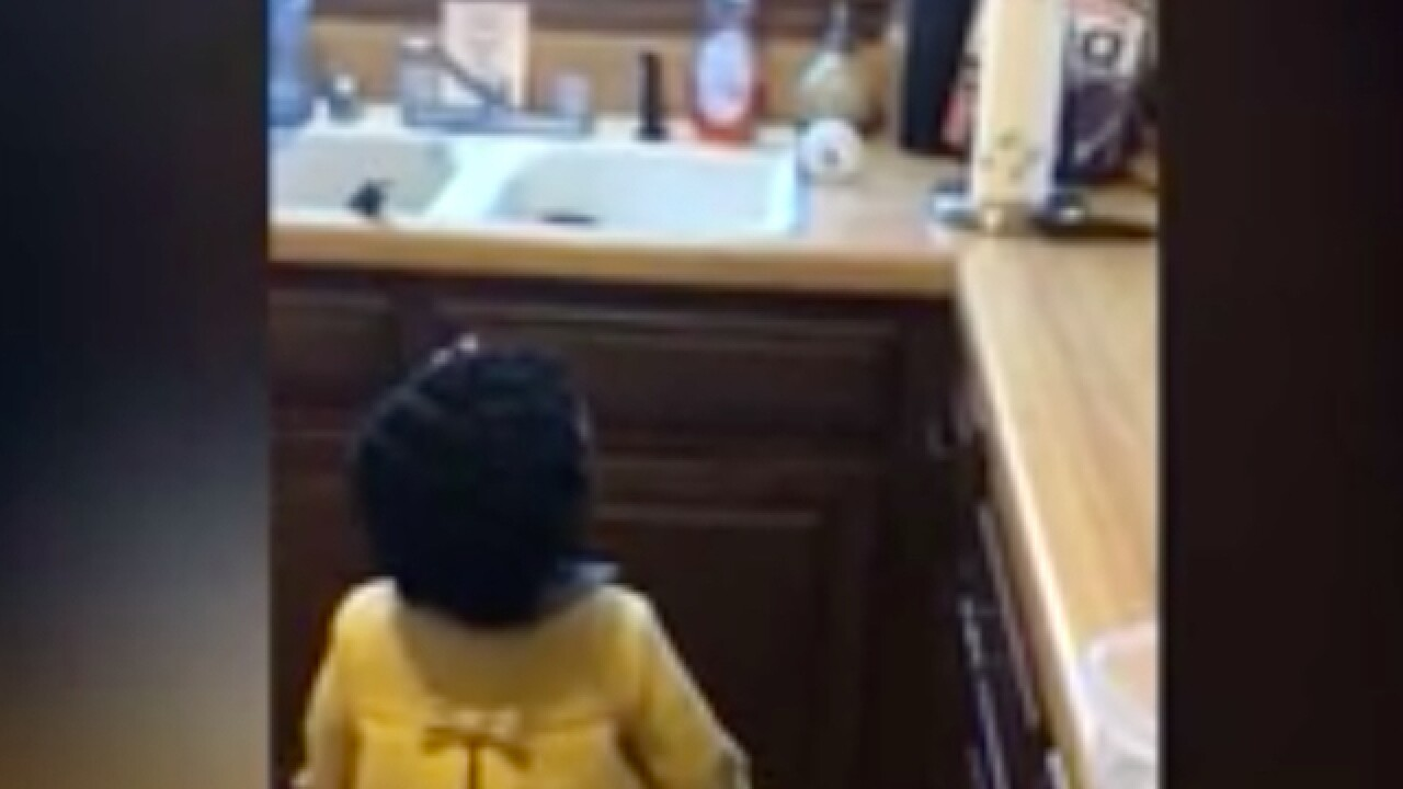 Watch: 2-year-old frustrated with Amazon Echo attempting to play 'Baby Shark'