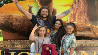 Jason Momoa Took His Kids To See 'Lion King'—and He Had The Sweetest Reaction To The Movie