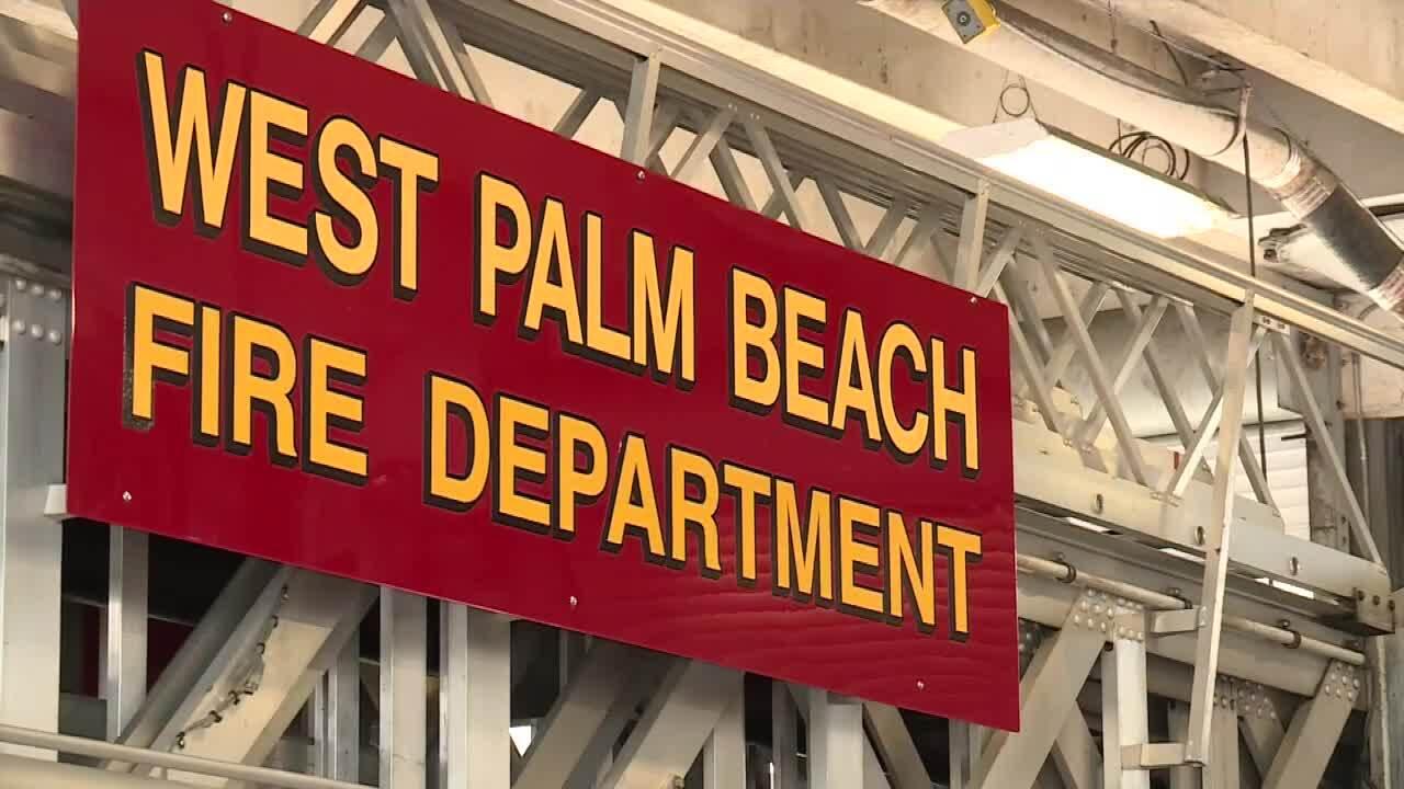 West Palm Beach Fire Department sign