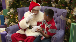 'Signing Santa' allows deaf children in Denver to ask for Christmas gifts in their own words