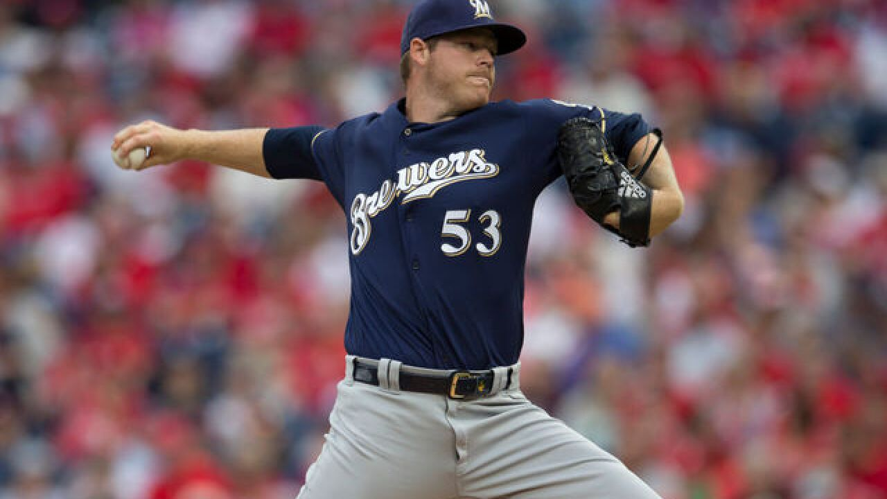 Brewers turn to Woodruff to open bullpen day vs Colorado
