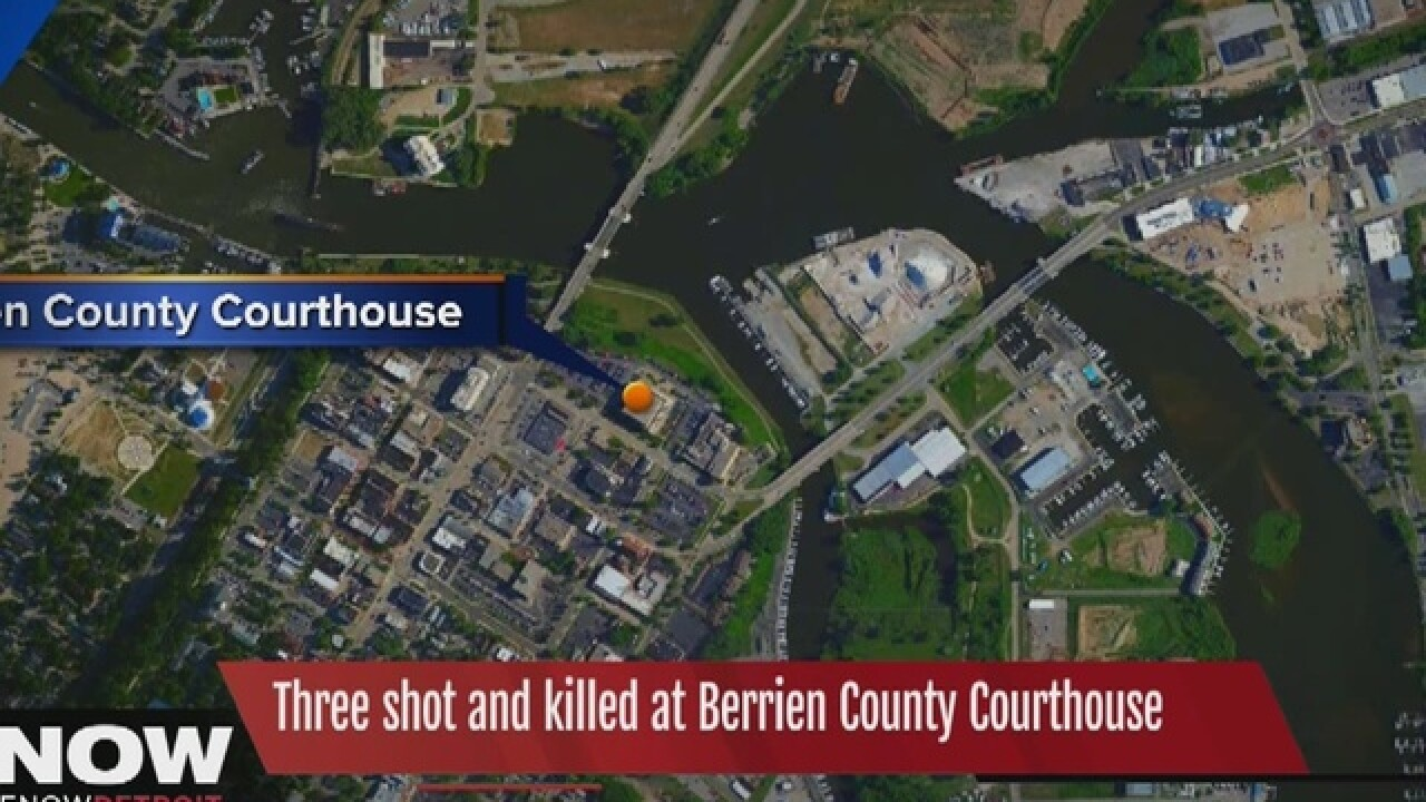 Report: 3 killed at southwest MI courthouse