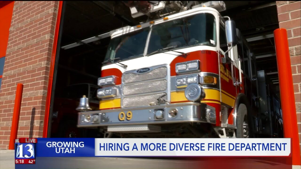 SLC Fire pushes for more diverse hiring amid growing diversity inUtah