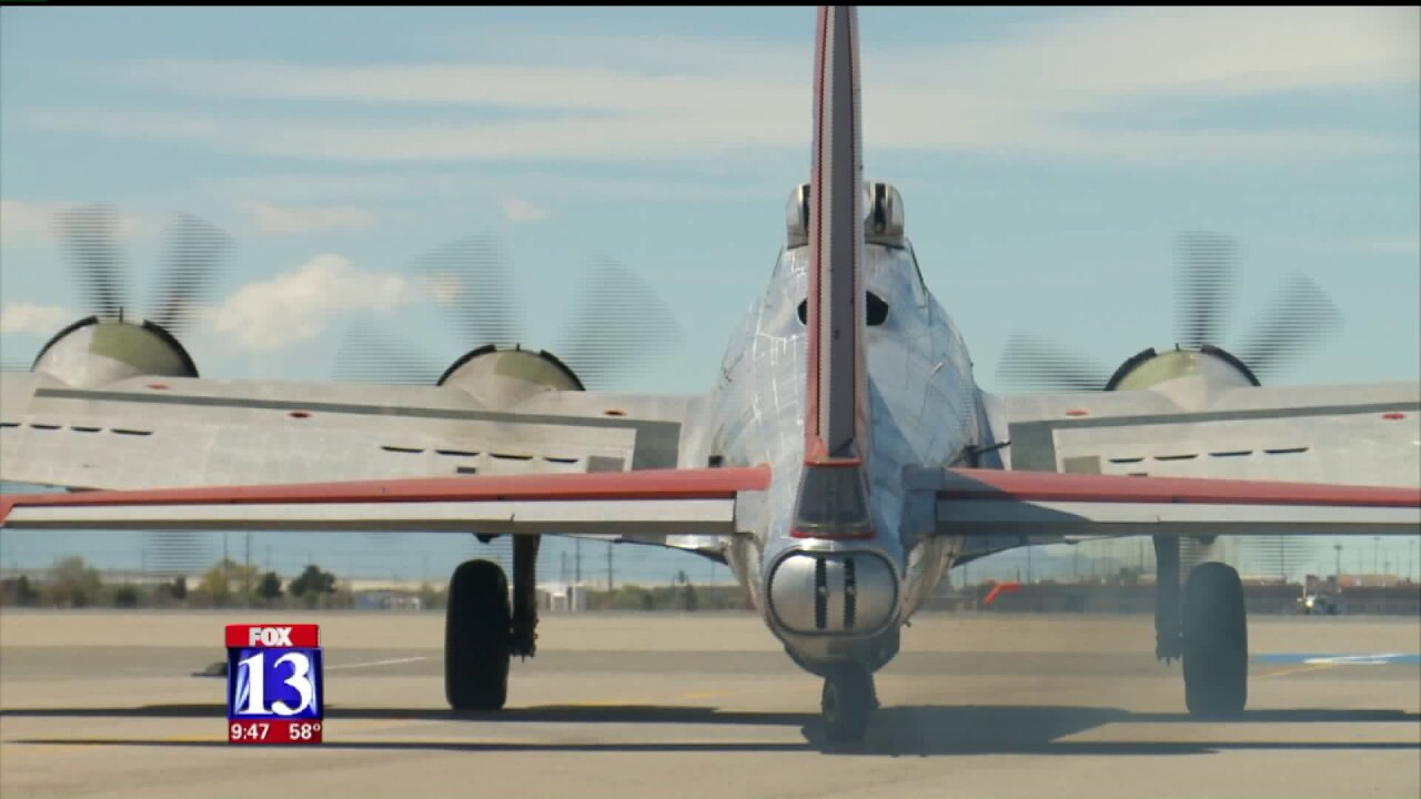 Take a closer look at the B17 Bomber 'Flying Fortress'