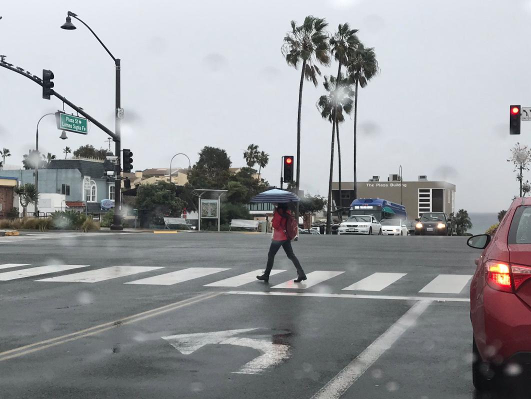 Solana Beach rain