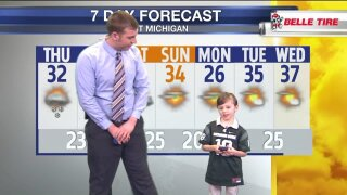 FOX 17 Weather Kid of the Month – Parker Sanford