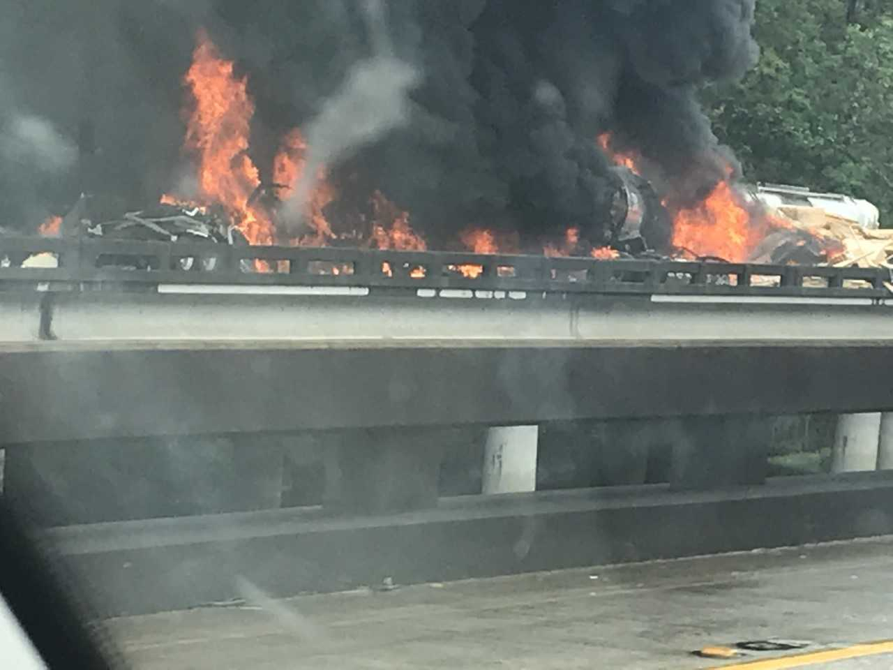 fiery crash I-10 west.jfif