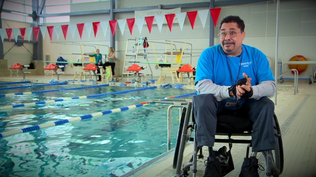 Overcoming: Local man inspires others after losing bothlegs