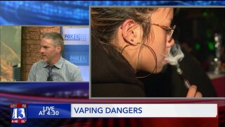 Is vaping a safer alternative to smoking? U. lung expert says vaping has its ownrisks
