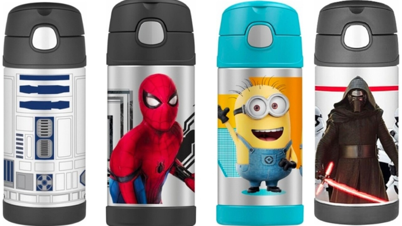Score these character water bottles on sale for $7.99