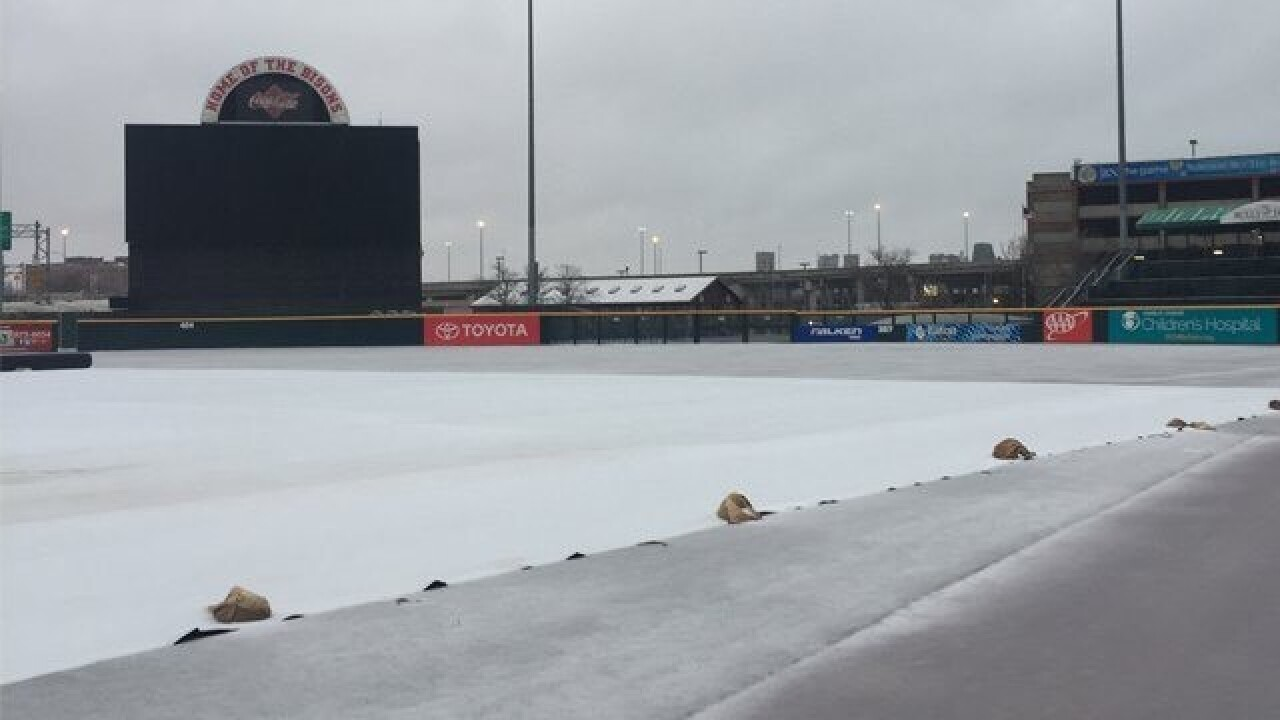 Bisons cancel home games due to wintry weather