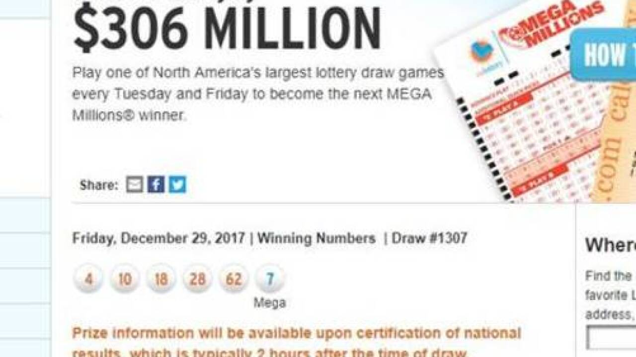 Ring In The New Year With A 343 Million Mega Millions Jackpot