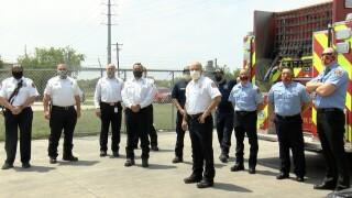 Corpus Christi Fire Department donates 926 lbs. of goods to Coastal Bend Food Bank