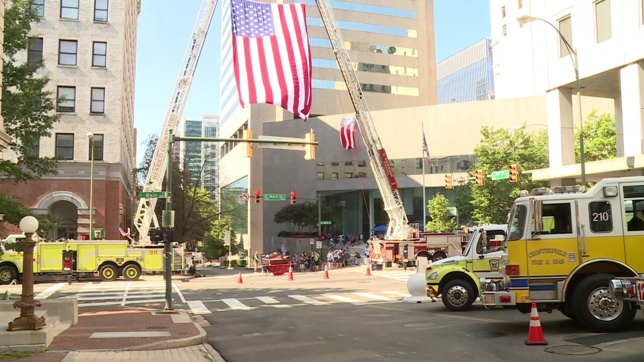 'It's surreal' — First responders come to Richmond to pay tribute to heroes killed on9/11