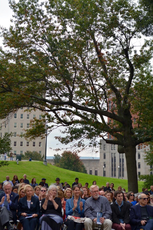 Photos: Women's Monument unveiled on Capitol Square: 'No  pedestals, no weapons, nohorses'
