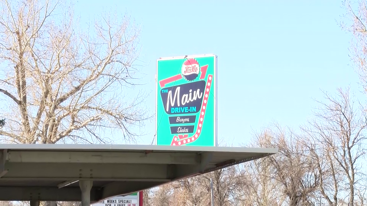 A sure sign of Spring: The Main Drive-In is open