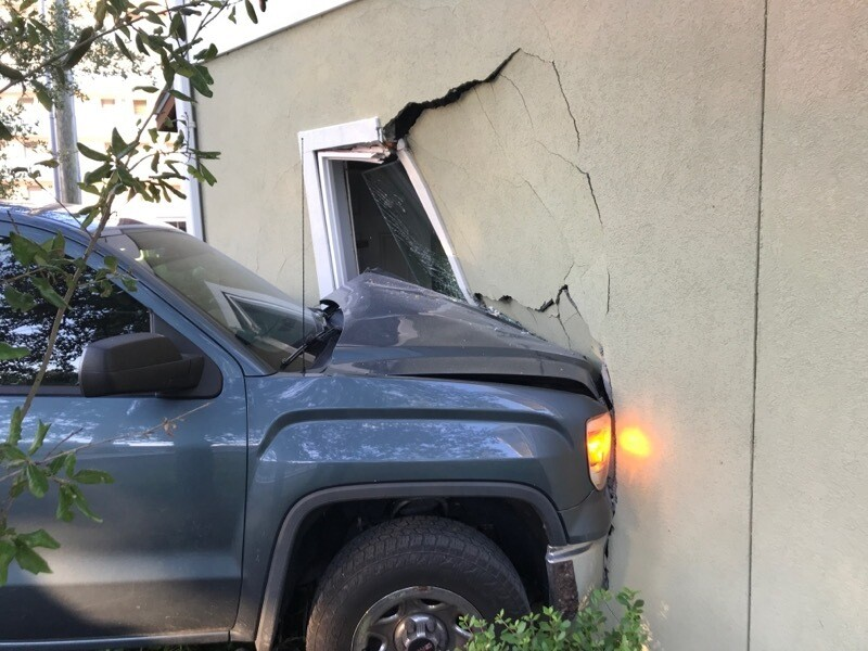 CPD Stolen Vehicle into Apartment